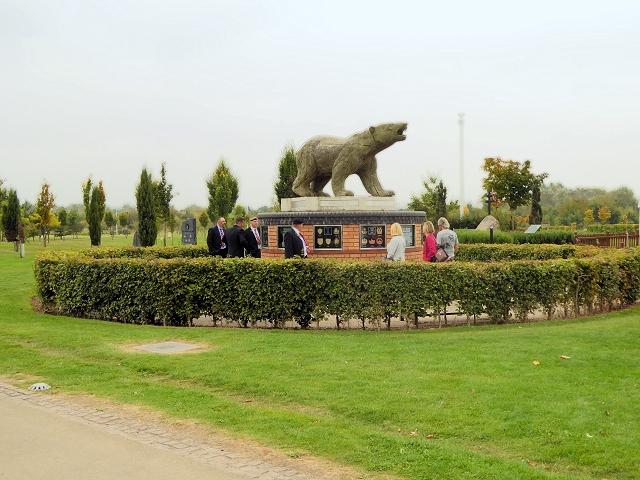 The Polar Bear Memorial, National Memorial Arboretum