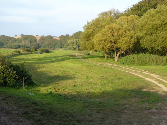 Footpaths by the River Otter, south of Otterton