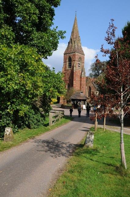 Hagley church