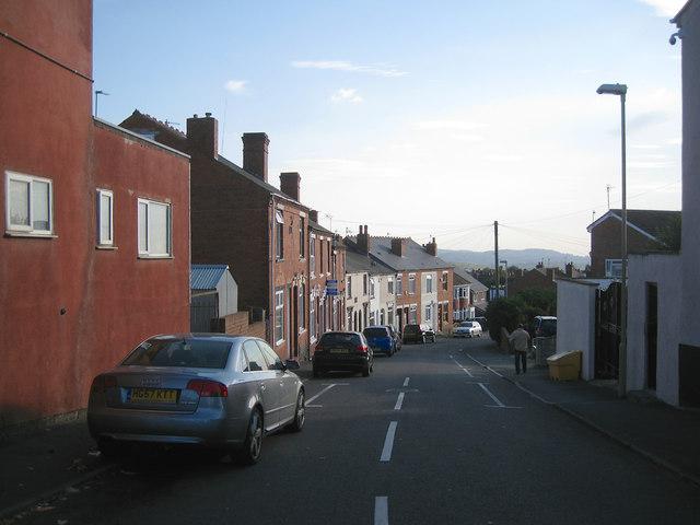Top of Junction Street, off Queen's Cross, Dudley