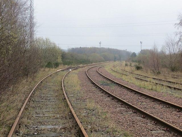Cockenzie power station rail spur