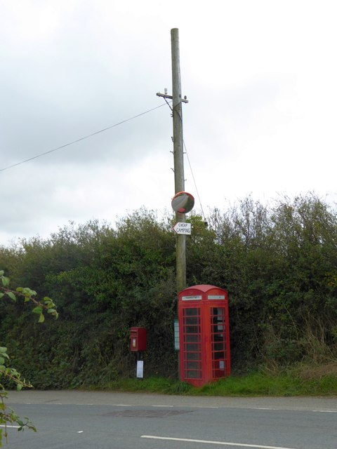 Phone box, St Endellion
