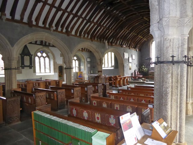 St Endellion church nave