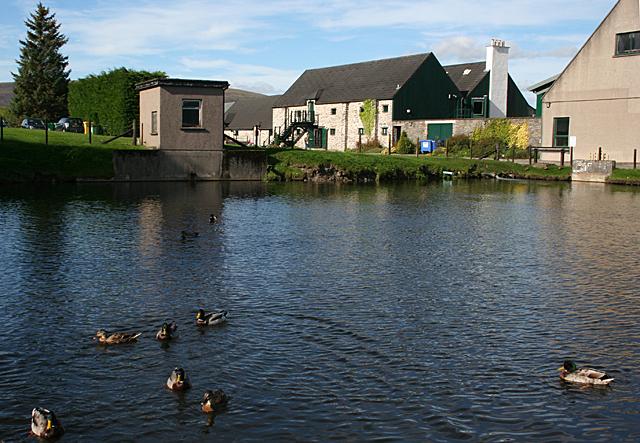 The Glenlivet Distillery Pond