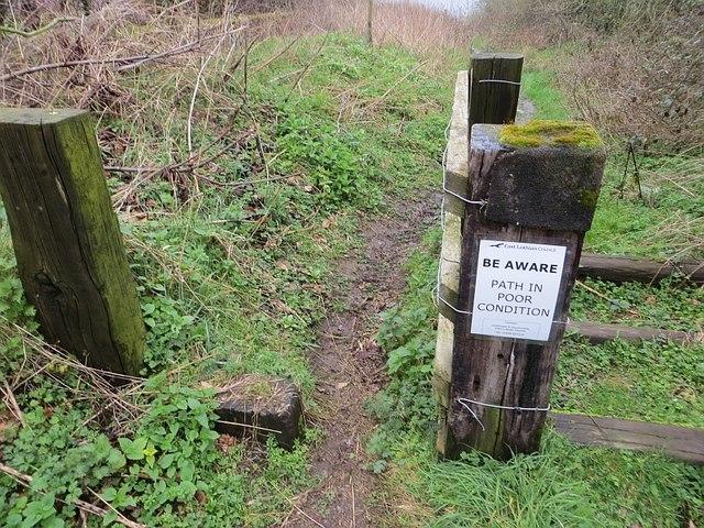 Path warning, Falside