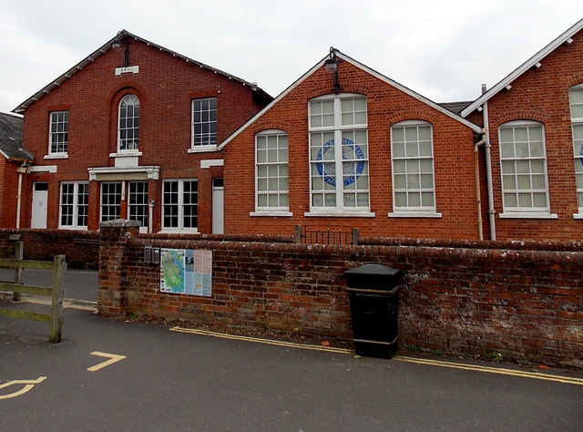 North side of St Barbe Museum & Art Gallery in Lymington