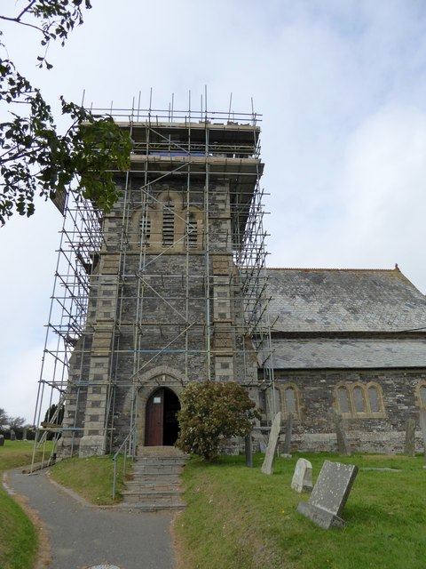 Delabole church