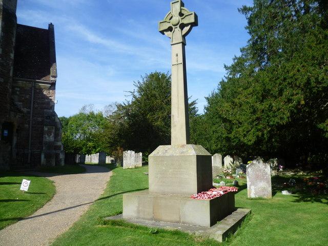 Shipbourne War Memorial