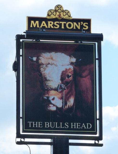 The Bulls Head pub sign