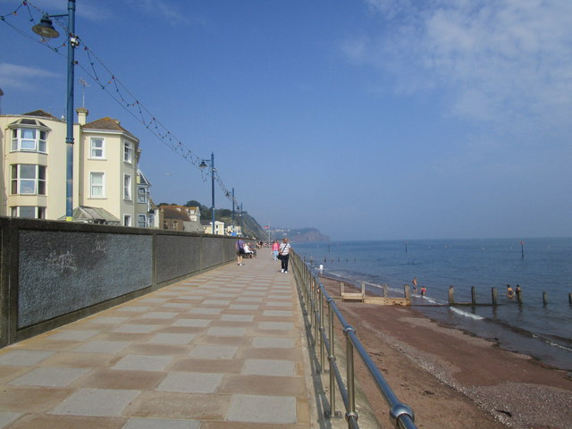 The seafront at Teignmouth
