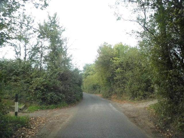 Golf club crossing on Church Lane, Bletchingley