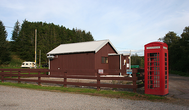Telephone Exchange and Kiosk