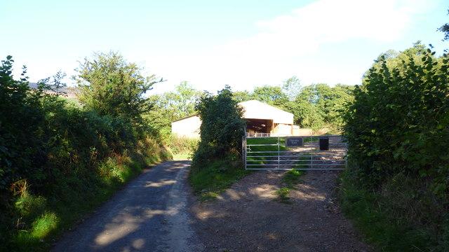Lane near Llanthony