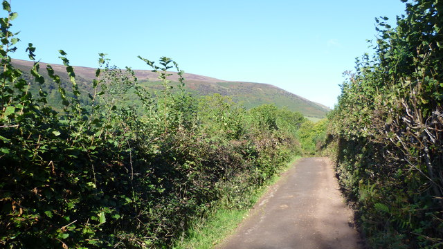 Lane in the Llanthony Valley