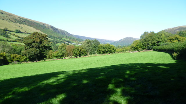 View in the Llanthony Valley