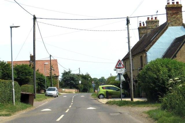 Main Street through Charndon