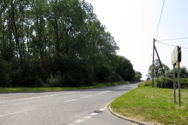 The road to Edgcott