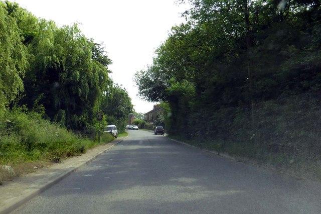 The road into Calvert