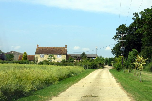 Road to Shepherd's Furze Farm
