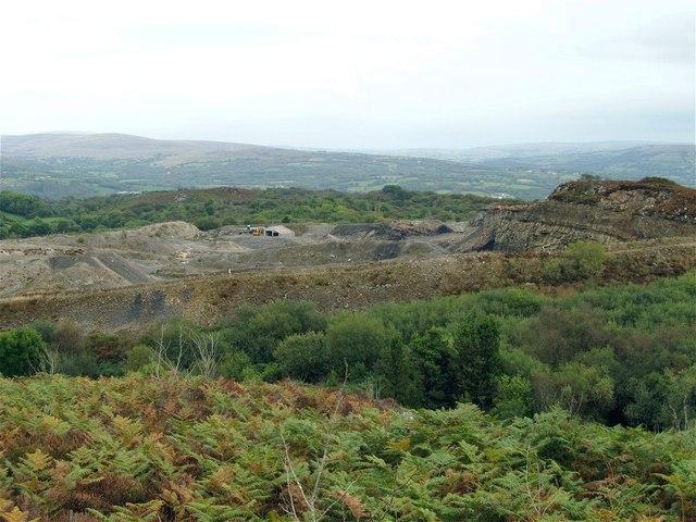 Allt y Garn Quarry