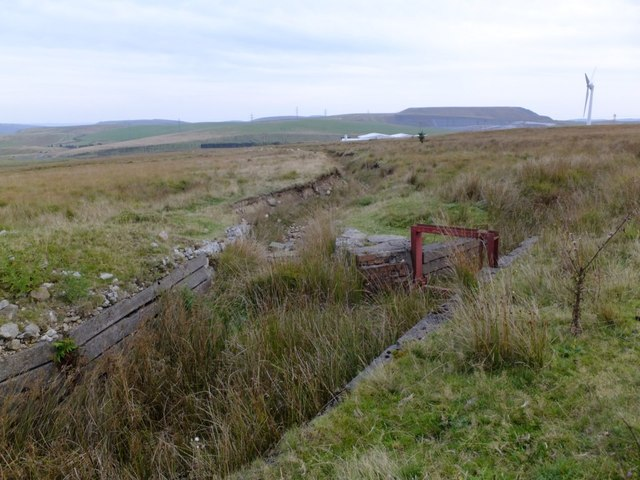 Disused water channel