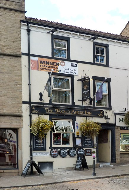 """The Woolly Sheep Inn"", Skipton"