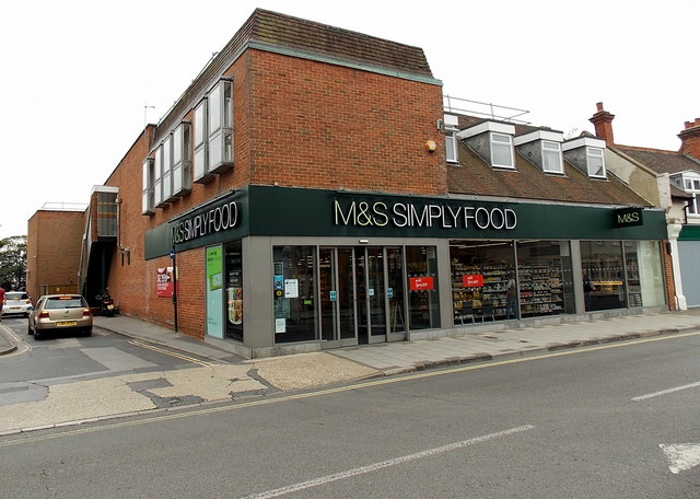 M & S Simply Food, Lymington