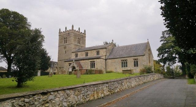 St Chad's church, Dunholme