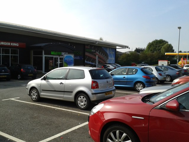 Parking at Cardiff Gate services