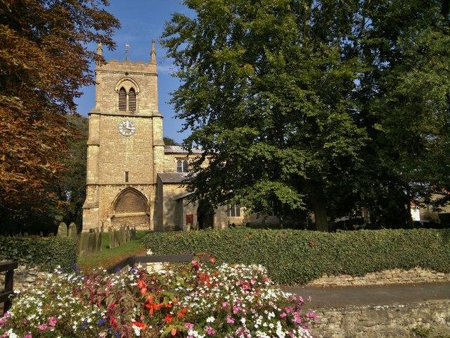 All Saints church, Nettleham