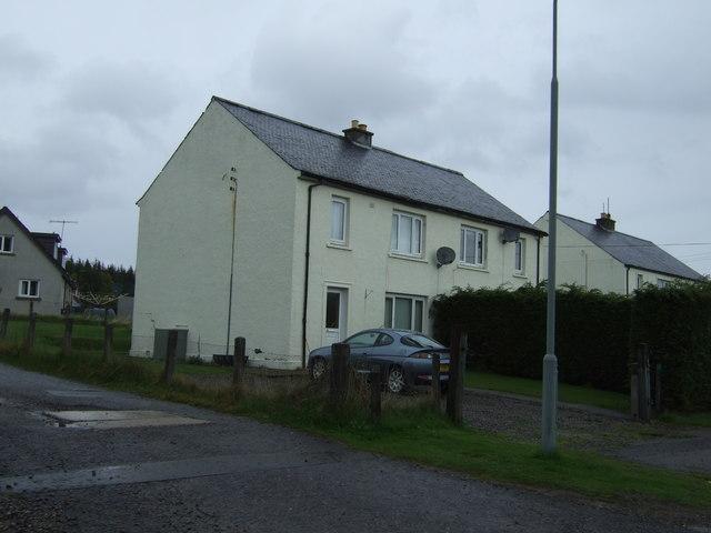 Houses, Tomatin Distillery