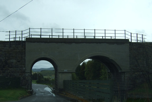 Railway bridge near Tomatin Distillery