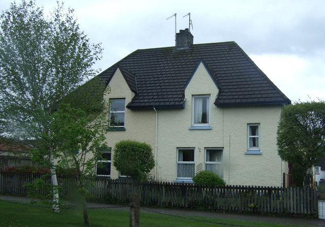 Houses on Grampian Road