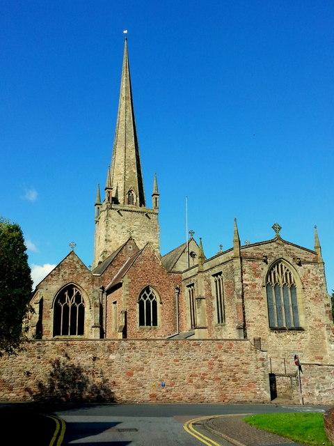 St. Mary's parish church, Ross-on-Wye