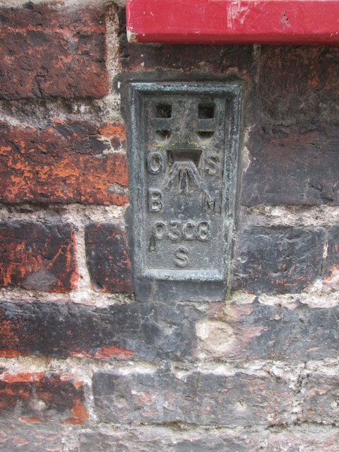 O/S  Bench  Mark  on  Well  Lane