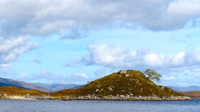 Loch Laidon scenery