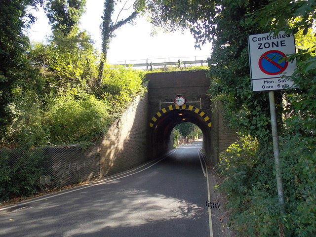 Stanmore Lane railway bridge, Winchester