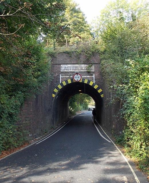 Lower Stanmore Lane railway bridge, Winchester