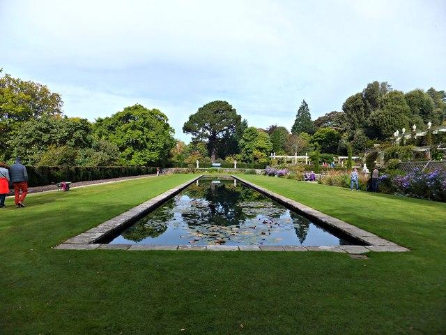 Canal Terrace Bodnant Garden