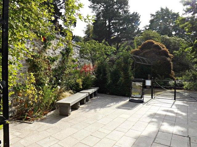 Entrance to Bodnant Garden