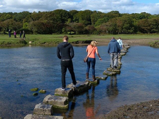 Stepping stones, Ogmore