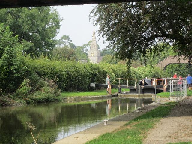Little Bedwyn Lock