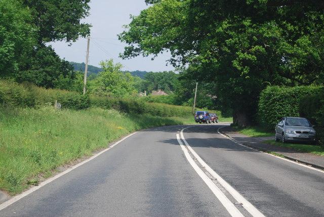 B2110, approaching Groombridge