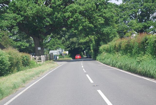 B2110, Crocker's Hatch Corner