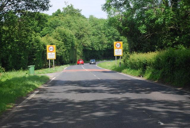 A264, entering Langton Green