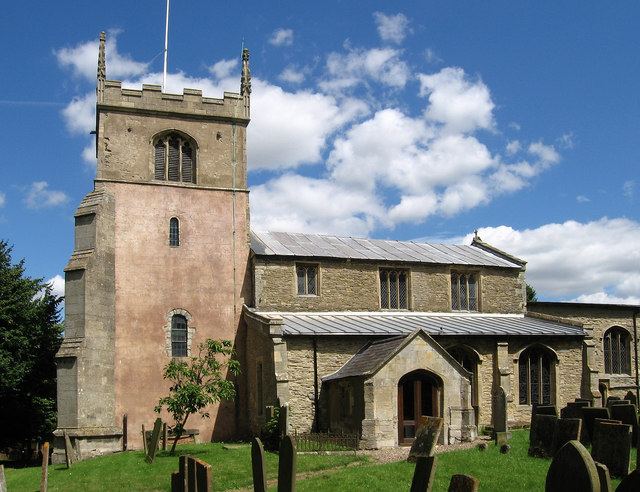 Collingham - All Saints Church - tower and nave