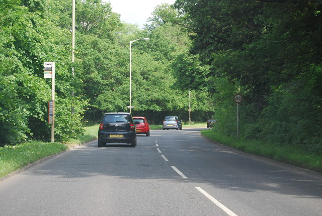 A264 crossing Rusthall Common