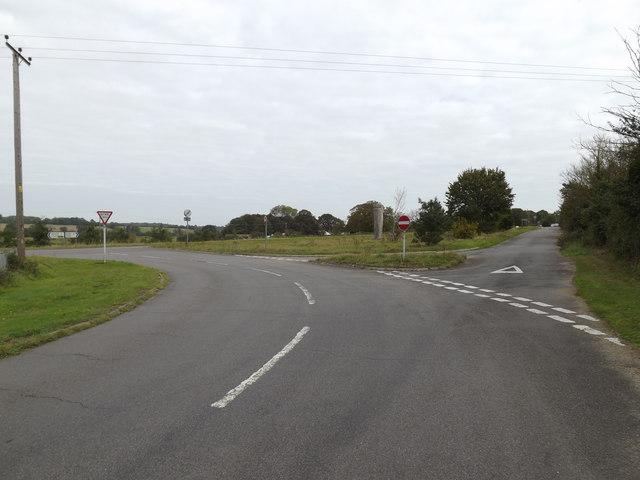 St.Cross Road, Homersfield
