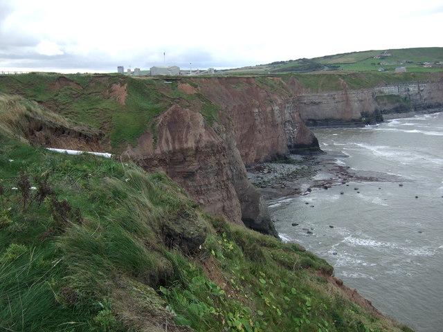 Cliffs near Cowbar