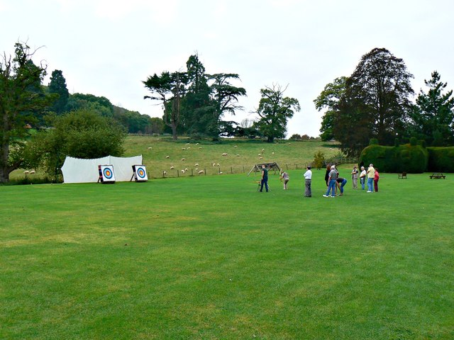 Archery, Holme Lacy House, Holme Lacy, Herefordshire